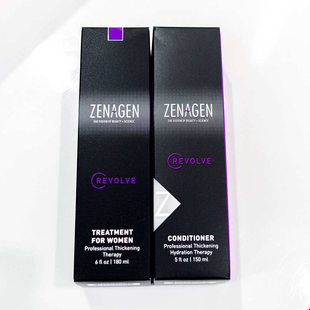 Zenagen Revolve Treatment for women and conditioner