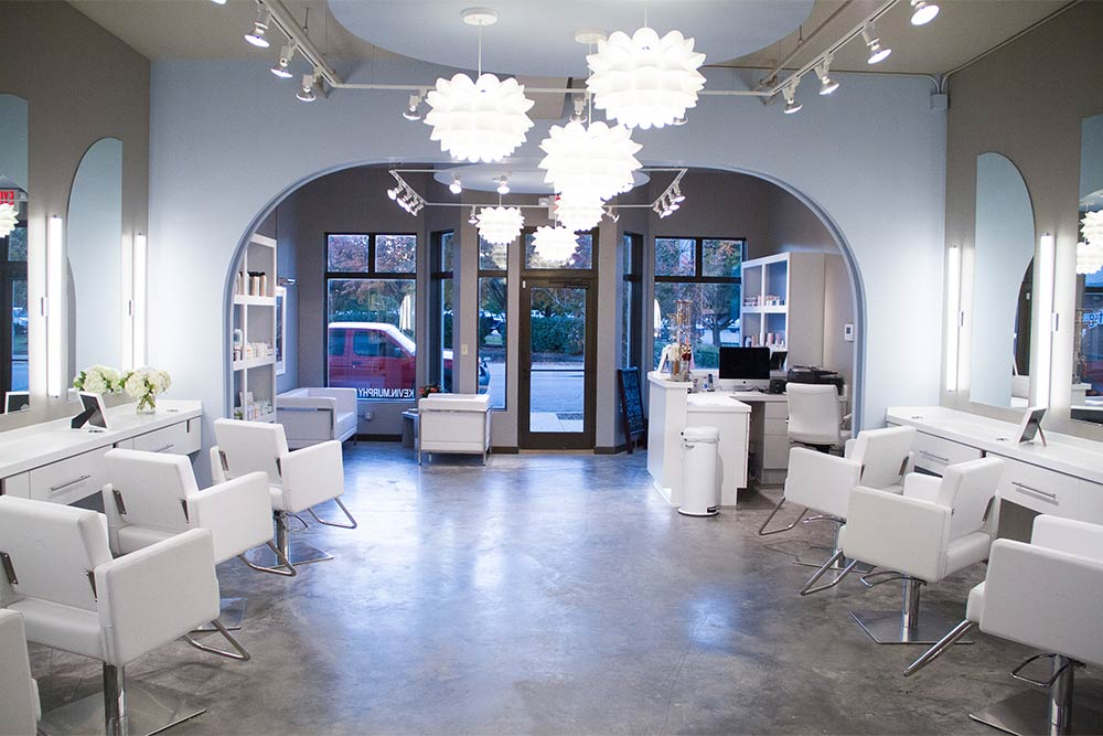 Blowout Co Chattanooga Salon Interior