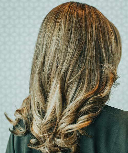 Classic polished blowout