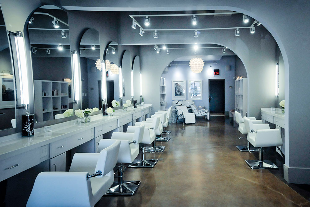 Blowout Co Belle Meade Salon Interior